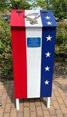 Flag Retirement Box
